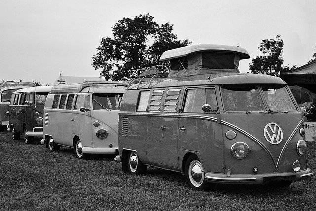 Les premiers camping-cars
